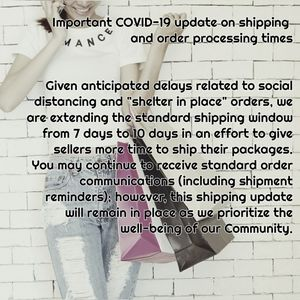 Pls review updated shipping policy..